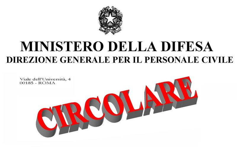 USB Pubblico Impiego - Ministero della Difesa: Circolare ...